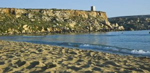 Las mejores playas de Malta. Calas de arena y agua turquesa.