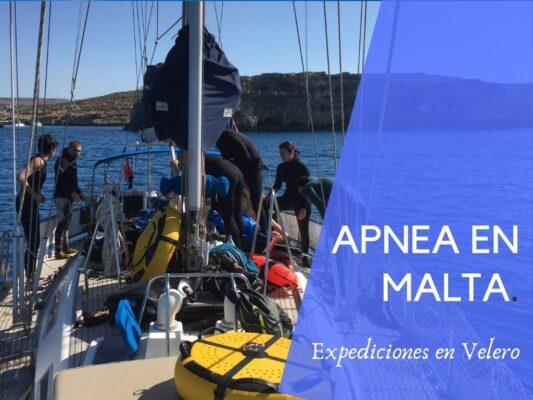 Donde hacer apnea en Malta.